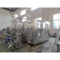 China Stainless Steel Juice Bottling Machine PET Bottle Washing Filling Capping Machine SGS on sale