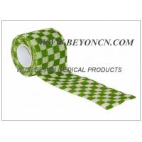 Printed Cohesive Elastic Bandage For Human Vet  Pet Joints Immobilization Manufactures