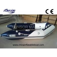 River / Sea Comfortable PVC Hull Foldable Inflatable Boat For 4 Passengers Manufactures