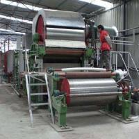 China 1092 Toilet paper making machine small tissue paper processing line on sale