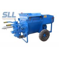 Professional Cement Render Pump , Electric Cement Grout Pump 50 L/Min Output Manufactures