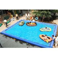 Square / Round Swimming Pool 2m - 50m PVC With Good Tension Manufactures
