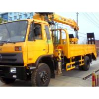 Quality 2017s best price 4*2 8tons truck mounted crane for sale, factory sale good price dongfeng 8tons cargo truck with crane for sale