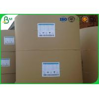 China 200gsm Large Cardboard Paper , White Uncoated Woodfree Paper For Book Printing on sale