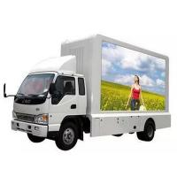 P6 Slim Truck Mobile Led Display , Led Moving Message Sign Board High Precision Manufactures