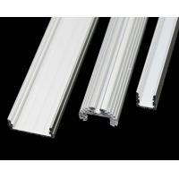 6063 - T5 Construction Aluminum Profile Extrusion Channel With PVDF / Powder Coating Manufactures