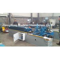 Rolling Up Steel Strip Door Frame Cold Roll Forming Machine With Manual Decoiler Manufactures