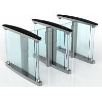 Buy cheap Intelligent Automatic Turnstiles , Controlled Access Turnstiles Gate With Servo Driver from wholesalers