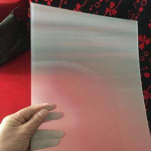 75LPI 51cmx71cm PET lenticular lens sheet for injekt print and uv print with good Lenticular Printing Effect Manufactures
