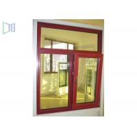 Sizes Customized Aluminium Tilt And Turn Windows With Insulation System Manufactures