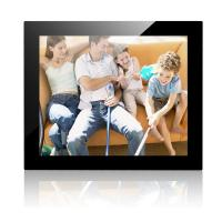 17 Inch Mirror Cover Desktop Digital Photo Frame With 1024*768 Resolution Manufactures