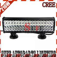Buy cheap 17''216W CREE LED LIGHT BAR 12V LED DRIVING LIGHT COMBO FOR OFFROAD SUV LED WORK from wholesalers