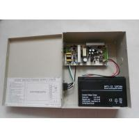 Quality Wall Mount CCTV Power Supplies with 13.8V Battery Back-Up , 12VDC 3.5A Power for sale