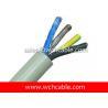 UL PVC Cable, AWM Style UL22181 20AWG 4C VW-1 80°C 30V, PVC / PVC Manufactures