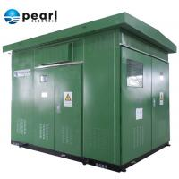 China Dual Voltage Prefabricated Substations 20 - 10 KV Europe Type Artistic Appearance on sale