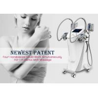 Cool Tech Cryolipolysis Fat Freezing Machine , Safe Cosmetic Laser Equipment Manufactures