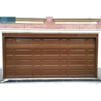 Electric Sectional Overhead Garage Door Thermal Insulation Manufactures