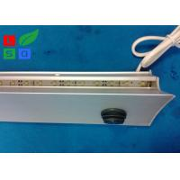 Quality Wall Mounting LED Flat Panel Light Ultra Slim 8mm Store Display Glass Shelf for sale