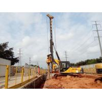 Piling Driver Equipment / Small Piling Rig Machine for Underground Construction KR80A Manufactures