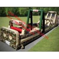 85 Foot Inflatable Military Obstacle Course Manufactures