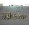 Semi - Porcelain Indoor Succulent Plants Pot Pebble Design 16.5 X 16.5 X 21 Cm Manufactures