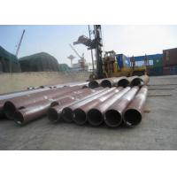Round Hot Rolled Seamless Steel Tube 56'' Large Caliber Heavy Thickness For Boiler Manufactures