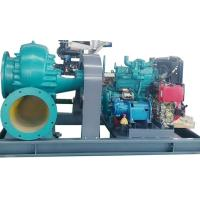 CE High Pressure Centrifugal Water Pump , Water Pump Diesel Engine Driven For Sewage Manufactures