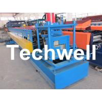 Z Channel / Section / Profile Cold Roll Forming Machine For 80 - 300 Width Z Channel Manufactures