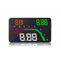 Quality Universal OBD2 Heads Up Car Display 4 Inch HD Screen Brightness Adjustable PC for sale
