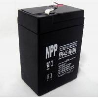 Deep Cycle Battery 6V4.5ah (ISO9001, ISO14001, UL, CE) Manufactures