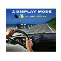 Quality 3.5 Inch Audi A5 GPS HUD Heads Up Car Display Two Display Mode Multi Color Auto for sale