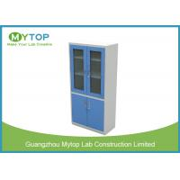 Fire Resistant Laboratory Storage Cabinet Reagents Cupboard With Ventilation Fan Manufactures