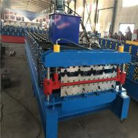 Carbon Steel / Corrugated Iron Metal Roofing Sheet Roll Forming Machine