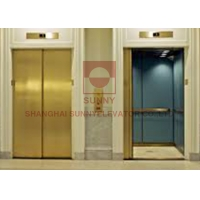 China Hotel Apartment AC Drive Etched Passenger Elevator on sale