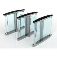 Fast Speed Turnstile Security Systems , 50HZ Swing Barrier Gate Manufactures