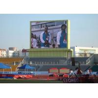 China P10 Outdoor Full Color Led Display For Stadium Sport Live Show High Brightness on sale