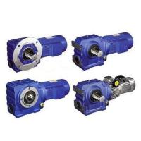 Helical Worm Gear Reducer Alloy Steel 40Cr Material With Electric Motor Manufactures