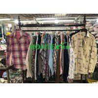 Wearable Clean Mens Used Clothing Long Sleeves Mixed Color For Summer Manufactures