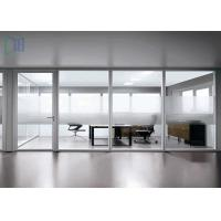 Quality Demountable Aluminium Office Partition / Office Glass Partition Walls for sale