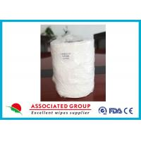 Spunlace Non Woven Roll Direct Spread Cloth Bamboo Fiber For Wet Wipe Production Manufactures