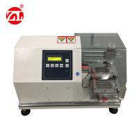 White Rubber Testing Instruments , Rubber Glove Cutting Resistance Strength Testing Machine Manufactures
