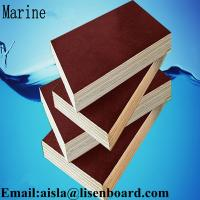FFP phenolic marine plywood,construction plywood,18mm black or brown film faced plywood Manufactures