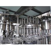 Three In One Filling Capping Food Filling Machine 5000bph - 7000bph Manufactures
