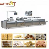 Mixer Chikki Cereal Bar Peanut Candy Making Machine With WEG Or Siemens Motor Manufactures