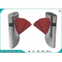 Double Wings Optional Flap Barrier Gate Bi-directional Access Control Manufactures