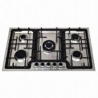 S.S Gas Stove, Built-in Hob with 5 Burners Manufactures