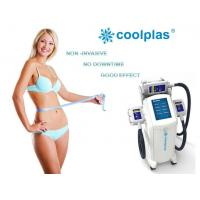 Non Surgical Cryolipolysis Fat Freezing Machine , Coolplas Cellulite Reduction Machine Manufactures