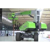 Outdoor Electric Boom Lift ,  Articulated Boom Lift 27m Platform Manufactures