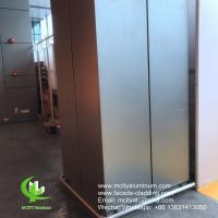 Outdoor Curtain Wall Aluminum Column Covers Solid Aluminum Porch Post Wraps Manufactures