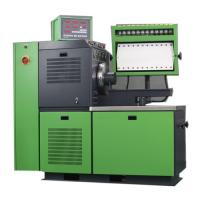 Quality CE Computer Controlled diesel injection pump test bench fan cooled 6 / 8 / 12 cylinders for sale